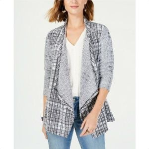 Style & Co Holiday Muse Tokyo Plaid Cardigan